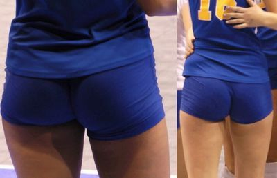 Hot Volleyball tube